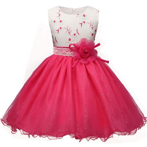 Baby Girl Dress For Girls Dresses Clothes 2017 Formal Princess Costumes Toddler Party Dress Girl ...