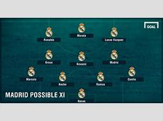 Real Madrid vs Real Betis Possible Starting Lineup of Los