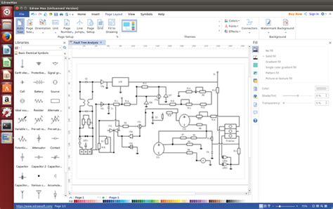 electrical diagram software for linux