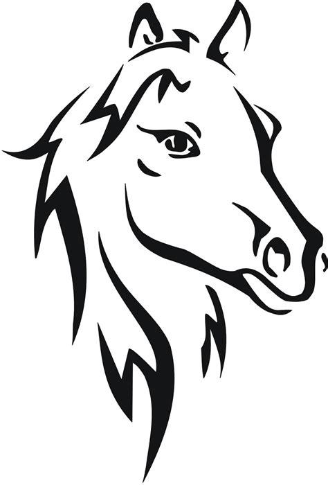 pferde schablonen kinderbilderdownload