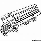 Bus Coloring Pages Drawing Truck Vehicle Trucks Outline Driver Pickup Buses Mail Magic Clipart Monster Wheels Thecolor Them Clipartpanda Others sketch template