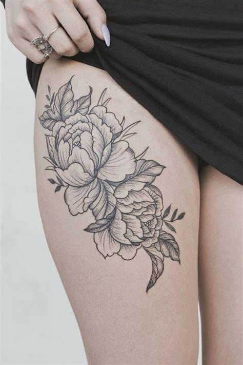 Tatuaggio Interno Coscia by 1001 Idee Per Tatuaggio Rosa Colori Significati E