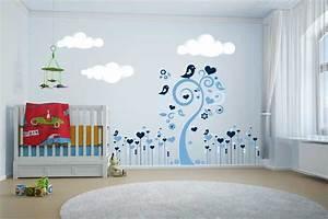 idee deco chambre bebe stickers visuel #7