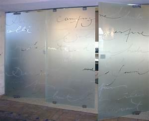 portes et cloisons stephanie lebreton realisation sur With porte d entrée en verre securit