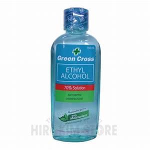 Green Cross Alcohol ETHYL 70% 150ml   HIROKIM STORE ONLINE ...