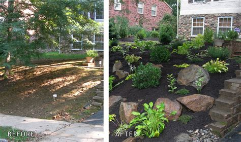 landscaping portfolio gallery backyard garden front