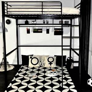 Lit Mezzanine Ado : gain de place dans la chambre ado avec un lit mezzanine maison facile lit sommier lattes ~ Teatrodelosmanantiales.com Idées de Décoration