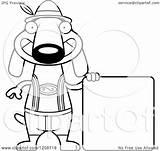 Dog German Dachshund Lederhosen Happy Clipart Skinny Cartoon Oktoberfest Wearing Royalty Thoman Cory Vector Coloring Pages Template sketch template