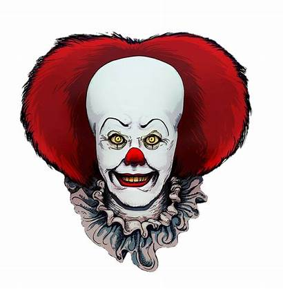 Clown Pennywise Clipart