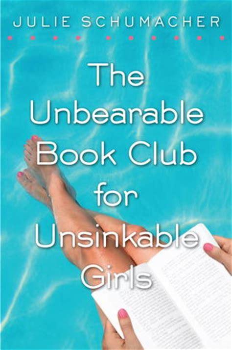unbearable book club  unsinkable girls  julie