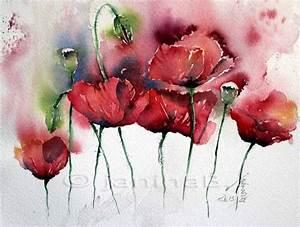 Aquarell Malen Blumen : 2015 fillesansnoms webseite aquarell pinterest ~ Articles-book.com Haus und Dekorationen