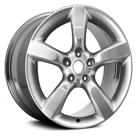 replace 174 nissan 350z 2005 2009 18 quot remanufactured 5 spokes factory alloy wheel