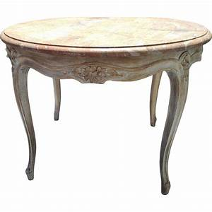 vintage round french carved coffee table cocktail table w With vintage round marble coffee table