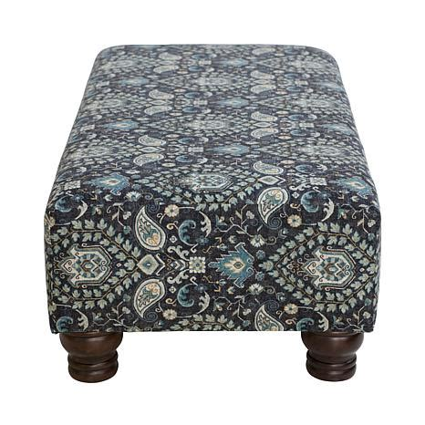 Printed Ottomans by Rectangular Printed Ottoman 8189085 Hsn