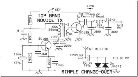 Radio Circuits Blog Simple Novice Transmitter