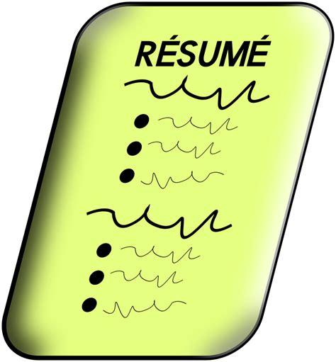 clipart resume