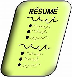 Clipart - Resume