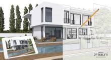 Honorar Architekt Einfamilienhaus by Architekten 2p Raum Einfamilienhaus Fertighaus Und Massivhaus