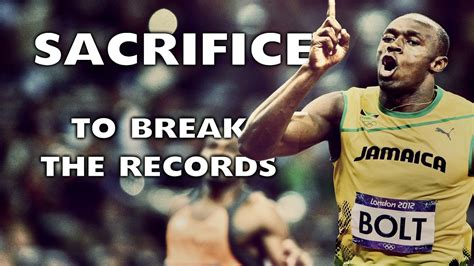 Bold All by Usain Bolt All This For 9 58 Seconds Motivational