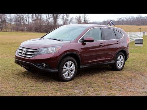 Honda Crv Reviews by 2013 Honda Cr V Review Lotpro