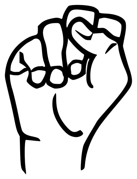 Convert your image to the svg format with this free online image converter. File:Sign language S.svg - Wikimedia Commons