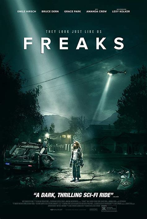 horror movies upcoming freaks release poster