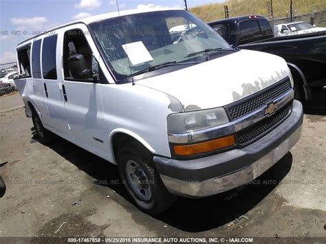 Used Parts 2005 Chevrolet Express Van 3500 60l Lq4