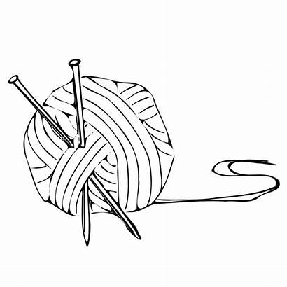 Knitting Ball Clipart Crochet Clip Yarn Vector