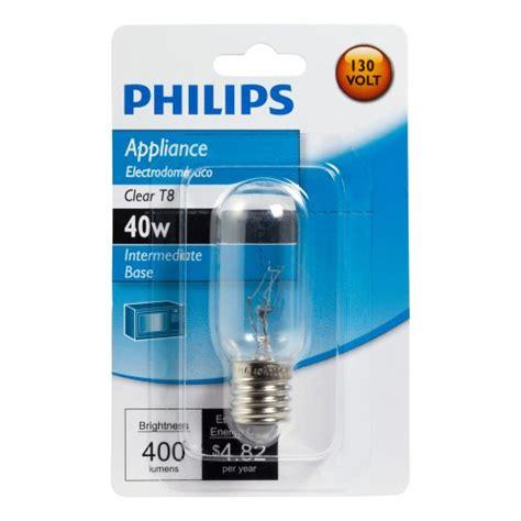 philips 416255 appliance 40 watt t8 intermediate base
