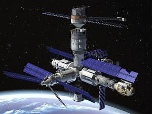 Mir Space Station Complex 3d Model  Max  Obj  3ds  Fbx  C4d  Lwo  Lw  Lws