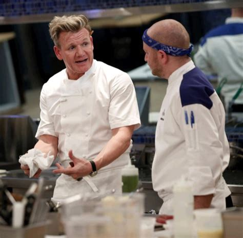 """Hell's Kitchen Recap 4116 Season 15 Episode 12 """"7 Chefs. Wallpaper Living Room Designs. Living Room To Dining Room. Discount Living Room Set. Turquoise And White Living Room. How To Decorate Bookshelves In Living Room. Dark Blue Living Rooms. Orange Color Living Room. Chair Rails In Living Rooms"""