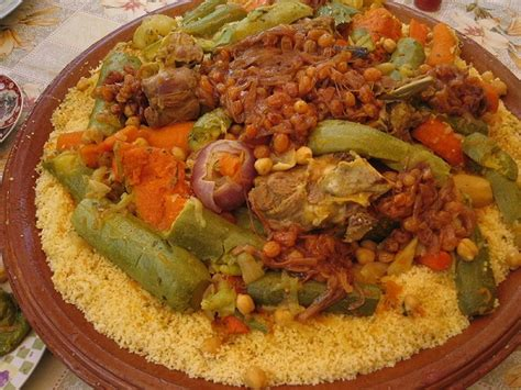 cuisine tunisienne arabe ricette dal maghreb couscous