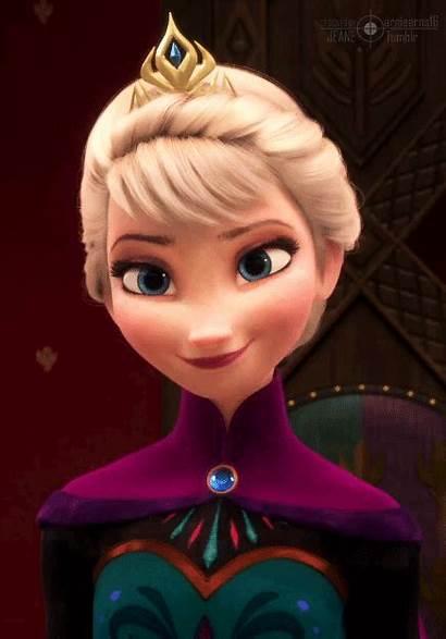 Elsa Queen Smile Frozen Disney