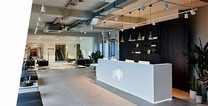Business Interior Reception Office Katie Modern Space