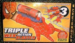 Pics For > Spider Man Web Shooter Toy