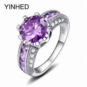 online get cheap purple engagement rings aliexpresscom With wedding rings purple