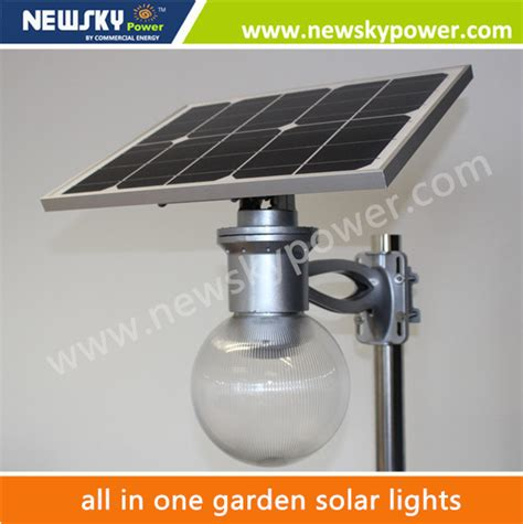 2015 new products solar energy all in one solar garden