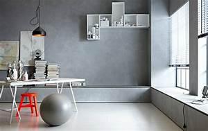Beton Effekt Farbe : wandfarbe beton wie kann man eine betonwand streichen ~ Michelbontemps.com Haus und Dekorationen