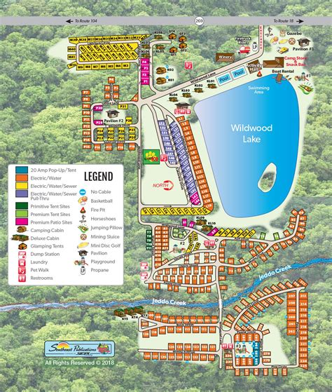 medina wildwood lake koa general info koa campgrounds