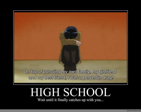High School Memes - high school anime meme com
