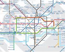london tube map buckin...