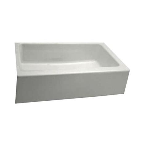 Home Depot Kitchen Sinks Cast Iron by Kohler Dickinson Apron Front Undermount Cast Iron 33 In 4