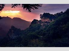 Wudang Mountains Mountain Range in Hubei Thousand Wonders