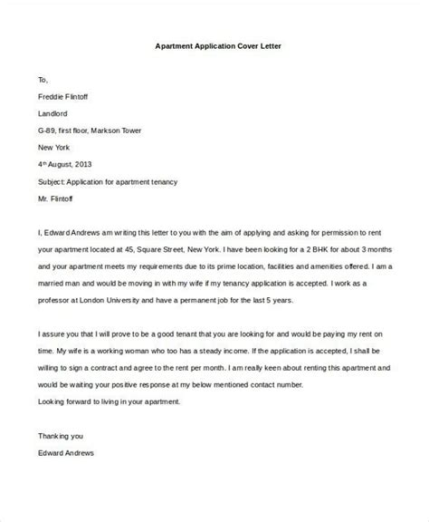 How To Write A Cover Letter For Rental Application by Rental Application Cover Letter How To Format Cover Letter