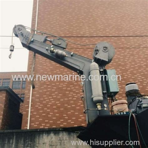 Boat Davit Manufacturers by Platform Single Arm Rescue Boat Davits From China