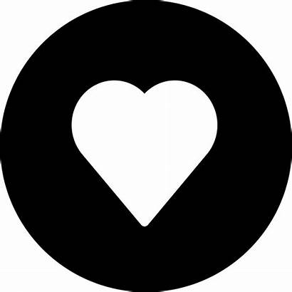 Heart Icon Svg Icons Button Poker Round