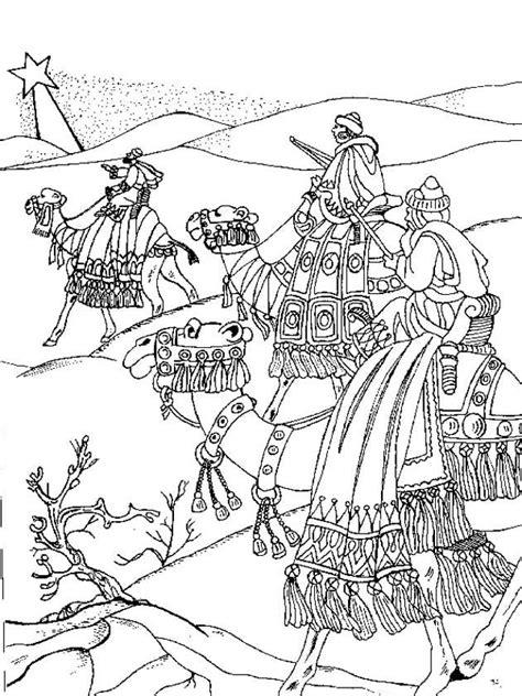 De Wijzen Uit Het Oosten Kleurplaat by Wijzen Uit Het Oosten Kerst Kleurplaten Kerstmis