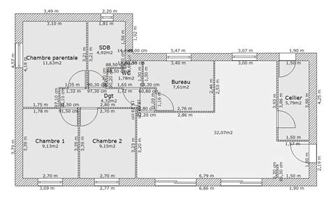 plan de maison plain pied gratuit 3 chambres besoin d 39 avis sur plan de maison 85m avec 4 chambres