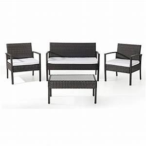 Gartenmöbel Set Klein : ebs polyrattan gartenmbel set gartengarnitur sitzgruppe lounge 1 tisch 1 kleines sofa 2 sthle 0 ~ Indierocktalk.com Haus und Dekorationen