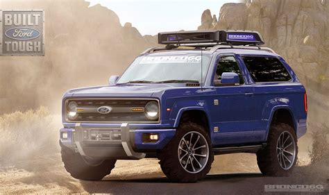 ford bronco concept rendering   ford bronco